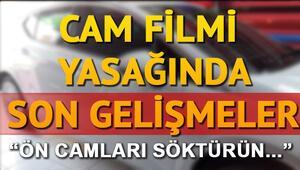 Cam filmi yasağında son durum... Cam filmi yasağı kalkıyor mu Cumhurbaşkanı Erdoğandan açıklama