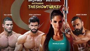 The Show Turkey fitness yarışma programı için geri sayım başladı