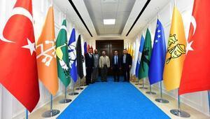 İran Büyükelçiliğinden, Battalgazi Belediyesi'ne ziyaret