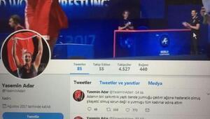 Şampiyon güreşçi Yasemin Adar: Yumruk atma, sahte hesap paylaşımı