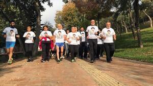 Ali İsmail Korkmazın annesi maraton öncesi son antrenmanını yaptı