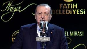 Cumhurbaşkanı Erdoğandan İstanbul açıklaması