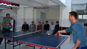 Öğretmenler arasında turnuva