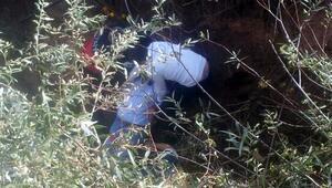 Zile'de dereye uçan otomobilin sürücüsü yaralandı