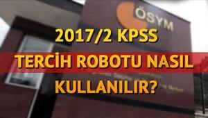 KPSS tercih ücreti hangi bankalara ödenecek İşte KPSS 2017/2 tercih kılavuzu