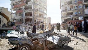 Depremde ölenlere AP'de saygısızlık