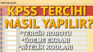 KPSS tercihleri için ÖSYMden adaylara uyarı KPSS tercih robotu nasıl kullanılır