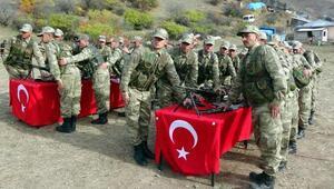 Erzurumda 30 güvenlik korucusu yemin etti