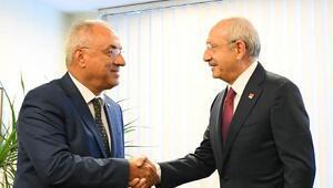 Kılıçdaroğlundan DSP Genel Merkezine ziyaret