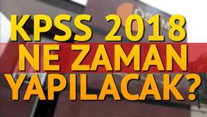 KPSS Lisans ve Ön Lisans sınavı ne zaman yapılacak
