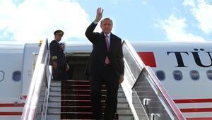 Cumhurbaşkanı Erdoğanın uçağında sürpriz isim