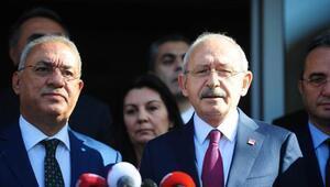 Kılıçdaroğlundan DSP Genel Merkezine ziyaret (2)