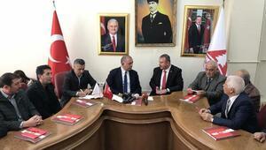 CHPli Gürsel Tekin Ankarada mobilyacı esnafının sorunlarını dinledi