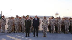 Cumhurbaşkanı Erdoğan Katardaki Türk üssünü ziyaret etti