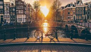 Kanallar şehri: Amsterdam