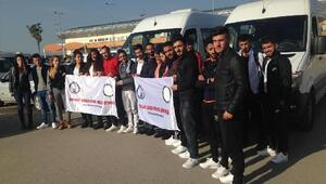 Hakkarili 25 sporcu 5 günlük gezi için İstanbula gönderildi