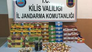 Kiliste 19 kaçak elektronik sigara ele geçti