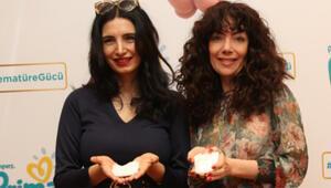 Prematüre bebeklere özel sosyal sorumluluk projesine ünlülerden destek