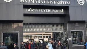 Marmara Üniversitesi'ne operasyon... Odalar aranıyor