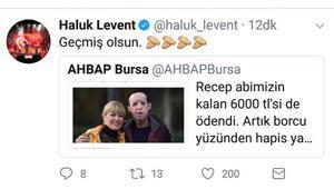 AHBAP borcu ödedi, Recep Sert serbest kaldı