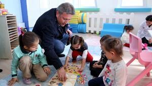 Türkiye ilk olan kapalı çocuk parkına hizmete başladı