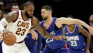 Cleveland Cavaliers uzatmada kazandı