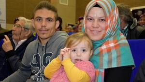 İşitme engelli çiftin ev hayali TOKİ ile gerçek oldu
