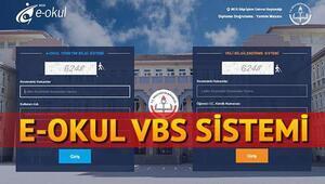 E-Okul VBS giriş sistemi (Sınav, devamsızlık, ders notu öğrenme)