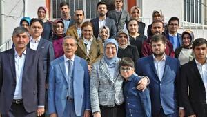 Eski bakan Ramazanoğlundan Gölbaşına ziyaret