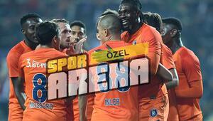 Medipol Başakşehir evinde lider Galatasarayı dağıttı 6 gol...