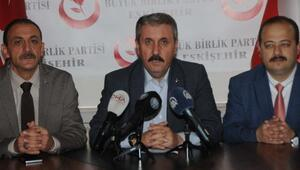BBP Genel Başkanı Destici: Seçim barajı sıfır olması lazım