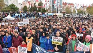 Kapaklı'da termik santral protestosu