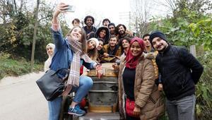 Uluslararası Öğrenci Birimi Avluburunlu öğrencileri ziyaret etti
