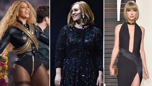 Beyonce, müzik dünyasının en çok kazanan kadını oldu