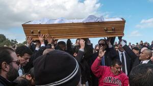 Cenaze törenine Naomi Campbell de katıldı