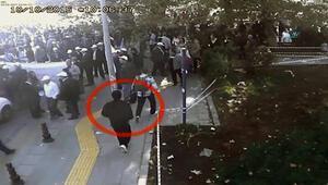 Ankara Garı bombacılarının alana giriş anı kamerada