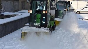 Kocasinan Belediyesinde karla mücadele başladı