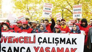 Taşerona 'sözleşme' sendikaları kızdırdı