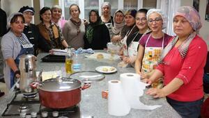 Odunpazarından kadınlara aşçılık kursu