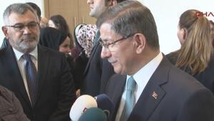 Ahmet Davutoğlu, iptal edilen programıyla ilgili konuştu