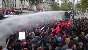 Adıyamanda tütün protestosuna müdahale