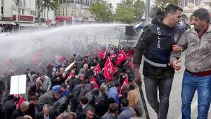 Tütün protestosuna müdahale: Çok sayıda gözaltı var