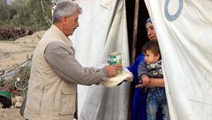 İHH'dan Türkmenlere yardım