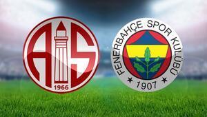 Fenerbahçe, Antalya deplasmanında Kritik viraj...