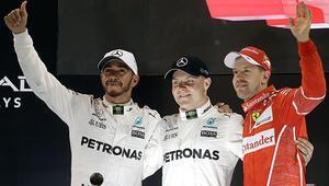 Formula 1de sezonun son yarışını Bottas kazandı