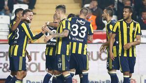 Fenerbahçe Giuliano ile Antalyayı devirdi / MAÇIN ÖZETİ