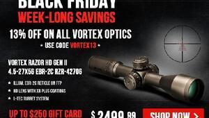 Black Friday'da 200 binden fazla silah satıldı