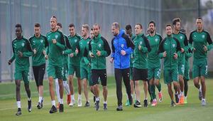 Bursasporda kupa maçı hazırlıkları başladı