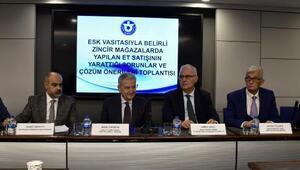 İzmirde sektör temsilcileri ucuz eti tartıştı