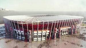 Sahalar da teknolojiye uydu: Sökülebilir futbol stadı yapılıyor